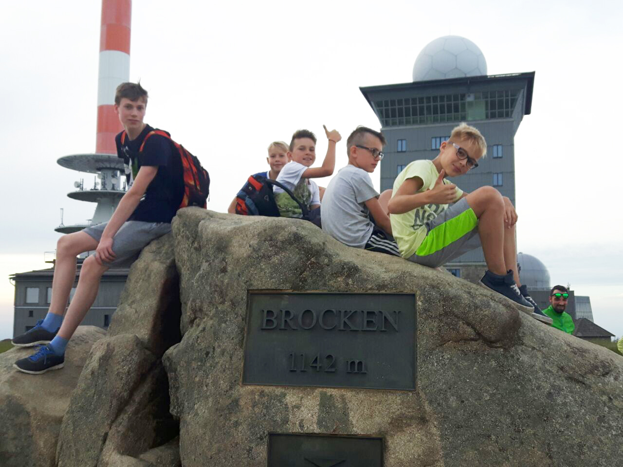 Ferienpass Aktion auf dem Brocken