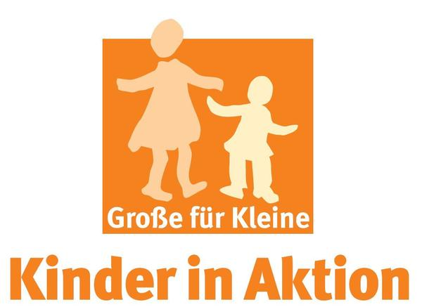 Logo Kinder in Aktion