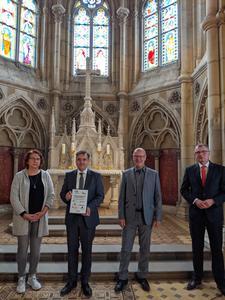 Sanierung der Schlosskirchenfenster abgeschlossen